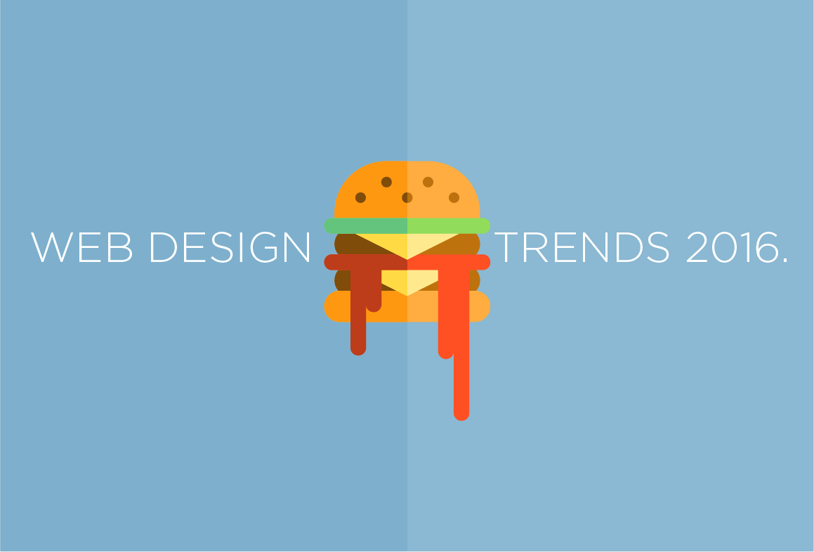 Web Design Trends 2016. What we saw.