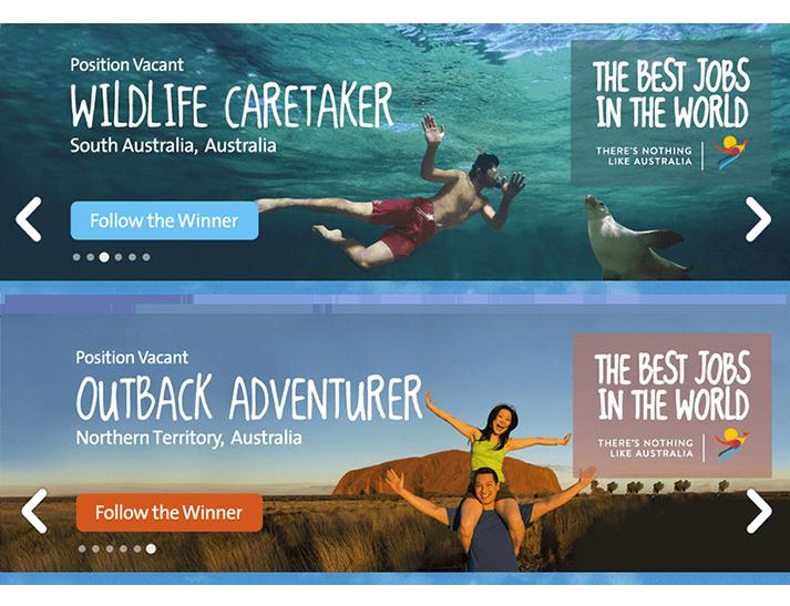 CareerOne & Tourism Australia Online Advertising Campaign